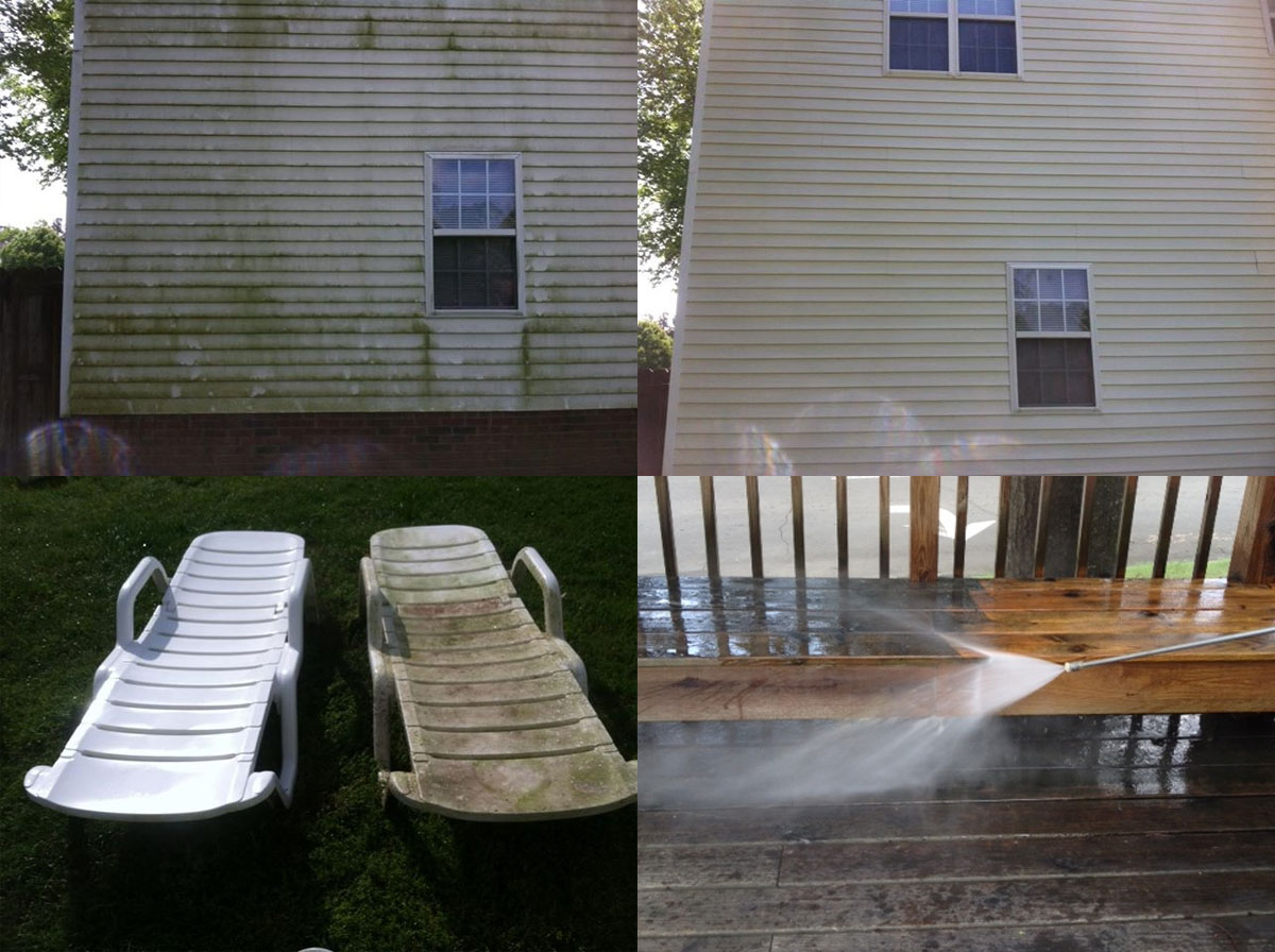 Before - After Power Washing